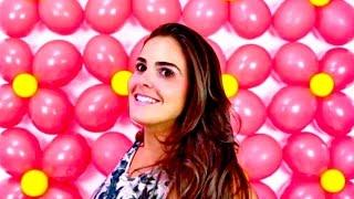 Um jeito super prático de improvisar e fazer uma parede de balões para festinhas infantis em casa! Gostou??? Dê like e se inscreva no meu canal!