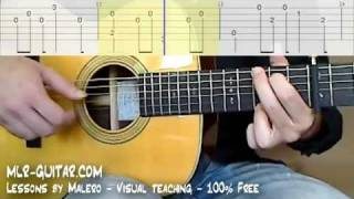 "Tab ""Hotel California"" - MLR-Guitar Lessons"
