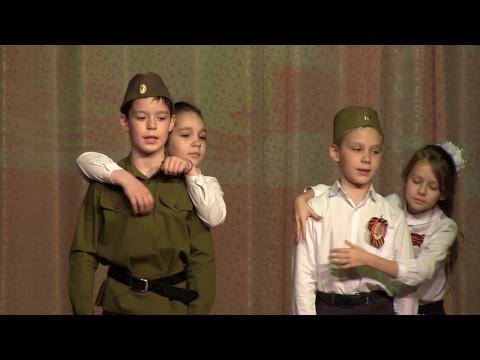 Гимназия 45 - Литературно-музыкальная композиция «Песни войны»