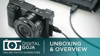 Sony Alpha a6000 Mirrorless Digital Camera with 16-50mm Power Zoom Lens | Unboxing & Overview