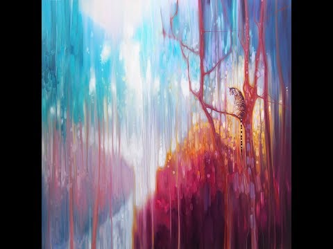 Light of the Jungle - an oil painting demo by Gill Bustamante
