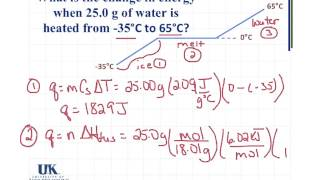 ChemCast 11.4 - Heating Curve Problem | EndlessVideo