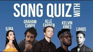 Song Quiz Challenge Mit Alle Farben, Kelvin Jones, Graham Candy, Ilira Und Lahos