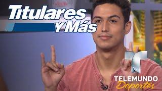Julio Macías revela cómo se transformó en el 'Spooky' Díaz | Titulares y Más | Telemundo Deportes