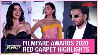 Filmfare Awards 2020 Red Carpet Highlights   Ranveer Singh, Alia Bhatt   Interviews   UNCUT