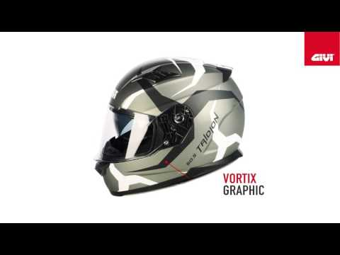 HPS 50.5 helmet in technopolymer material, Pinlock ready, anallergic and removable inner lining, sun visor, wind deflector and removable breathguard