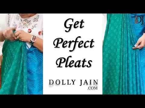 Easiest way to GET PERFECT PLEATS in 1 min