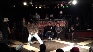 AKIHISA vs Youki_Hook up!!HIP HOP SEMI FINAL_2015.1.23