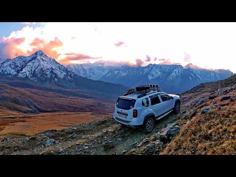3124 м - Штурмуем самый высокогорный автомобильный перевал Северного Кавказа - Чегетджара