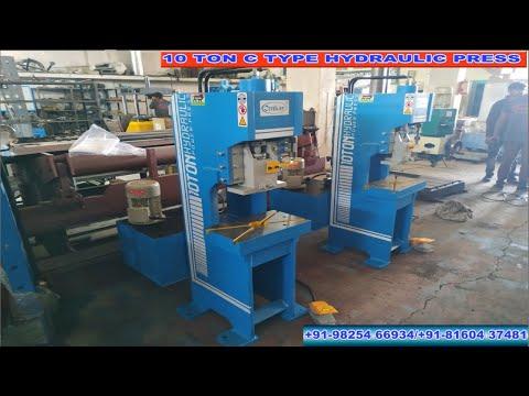 10 Ton  C Type Hydraulic Press