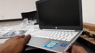 Hp stream 11 laptop unboxing