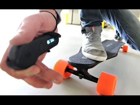 EPIC Electric Skateboard – Review Test Unboxing – Stary Board