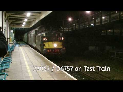 Colas Rail D6757 passes Prestatyn with a Network Rail Test t…