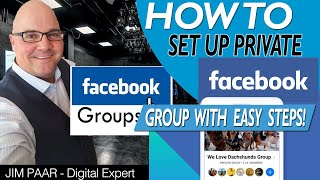 How to Livestream in Private Facebook Group SUPER EASY!
