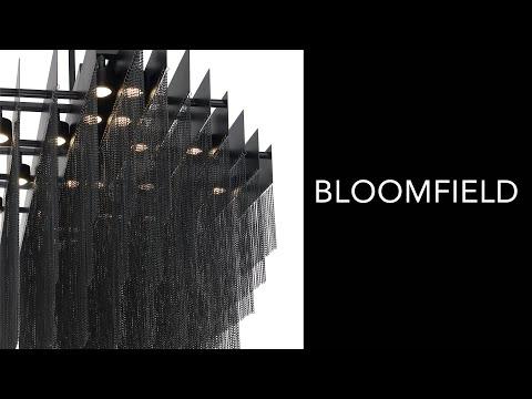 Video for Bloomfield Antique Brush Gold 29-Inch 22-Light LED Chandelier