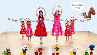 """Dance Along to """"The Watering Can Ballet!"""" - Sing and Dance Along Video for Kids"""