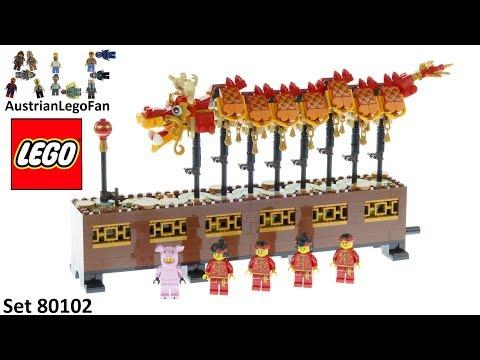 Vidéo LEGO Saisonnier 80102 : Danse du Dragon