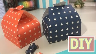 Easy DIY Gift Box / Paper Box Tutorial