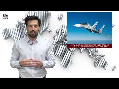 Informativo especial: Aviones de combate en Latinoamérica