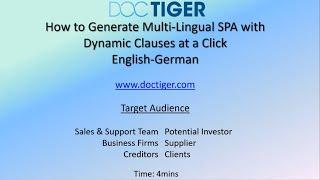 Multilingual SPA(English-German)