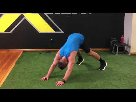 Shoulder Tap to Downward Dog