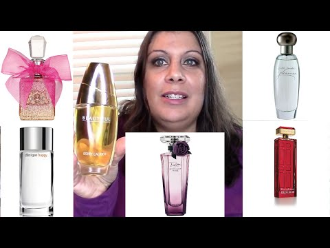 Top 5 Favorite Perfumes From the Department Store | Fragrances | Estee Lauder | Chrissi Jadeheart