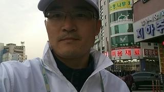새누리당 강원도당 강원 첫 유세현장 (조원진 후보 정함철) 서북청년단
