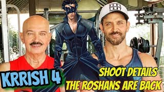 HRITHIK ROSHAN'S KRRISH 4 | OFFICIAL WORK BEGINS | SHOOT DETAILS