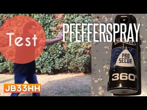 Vergleichstest: Pfefferspray | Walter Pro-Secure 360°