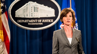 Trump axes acting AG Yates - VIDEO