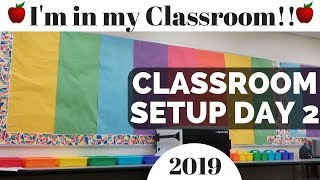 Classroom Setup Day 2 High School Classroom Tour Teacher Vlog Set Up Part 2