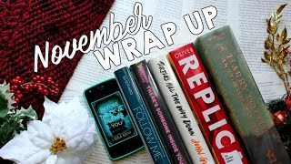 November Reading Wrap Up | 2017
