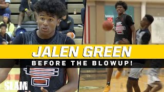 Jalen Green: Before the Blowup PLUS Unreleased Footage! 🦄