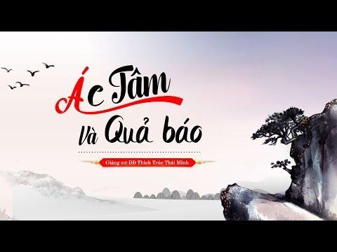 Pháp Thoại: Ác Tâm Và Quả Báo | Thầy Thích Trúc Thái Minh
