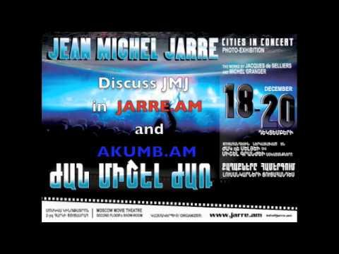 Jean Michel Jarre in Armenian Radio FM 107.7