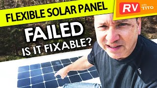 Flexible Solar Panel FAILED after THREE YEARS on my RV
