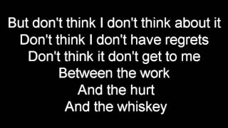 Darius Rucker- Don't Think I Don't Think About It Lyric Video