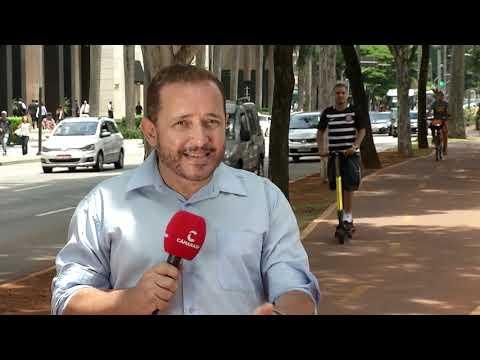 Patinete elétrico ganha popularidade em São Paulo