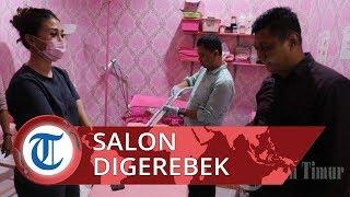 Polrestabes Makassar Gerebek Salon Kecantikan di Jl Emmy Saelan, Ternyata Ini Alasannya