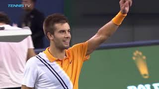 Djokovic, Coric through to Shanghai final | Shanghai semi-final highlights 2018