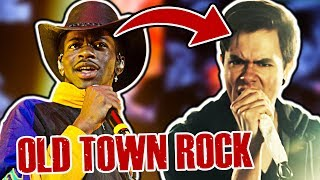 What If Old Town Road Was Rock?