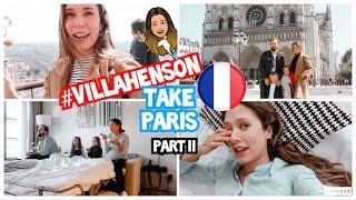 Nos CUELAN EN La Torre Eiffel #VILLAHENSON | Grace Villarreal