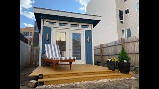 $300 Ground Level Backyard Deck Built In 1 Minute