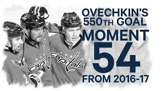 No. 54/100: Ovechkin scores 550th goal