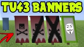 Minecraft Snapshot 14w30b How To Make Banners Custom Banner Flag Tutorial Minecraftvideos Tv