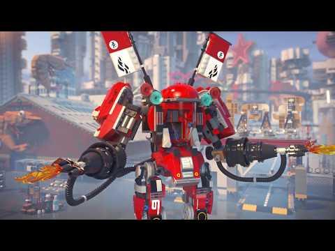 Конструктор Огненный робот Кая - LEGO NINJAGO - фото № 13