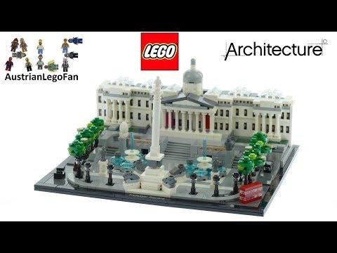 Vidéo LEGO Architecture 21045 : Trafalgar Square, Londres, Grande-Bretagne