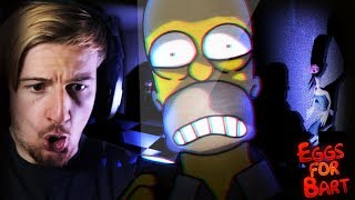 A SIMPSONS HORROR GAME? LET'S DO THIS. || Eggs For Bart