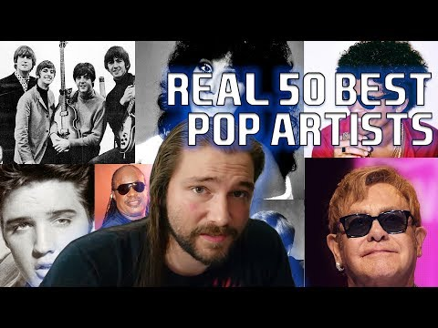 Metal Head Reviews ACTUAL 50 Best Pop Artists | Mike The Music Snob Reacts