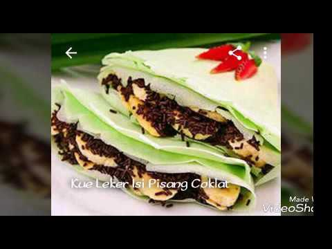 Video Resep Kue Leker isi Pisang Coklat.!! 2017